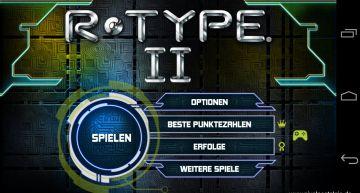 R-Type II Hauptmenü