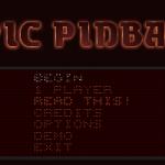 Epic Pinball Hauptmenü