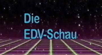 Retro Web-Fundstücke #1: ZDF EDV Schau 1989