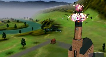 Tipp: sprengt den Kirchturm weg, denn dann…