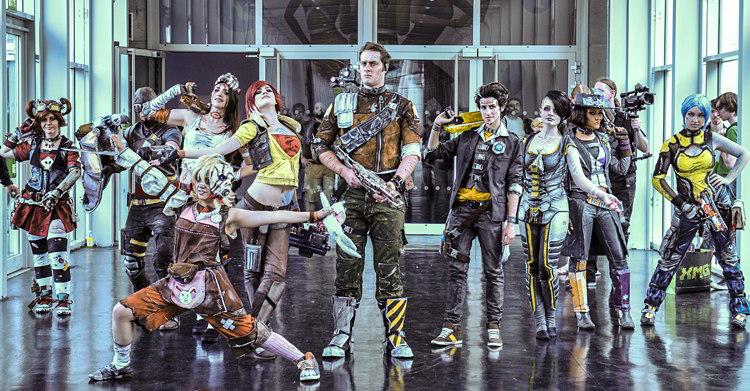 Cosplay auf der gamescom 2014: Bunt, auffallend und fantasievoll