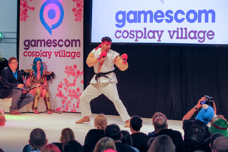 Cosplay Village - Quelle : gamescom.de