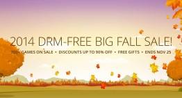 Sale zum Herbstbeginn bei gog.com