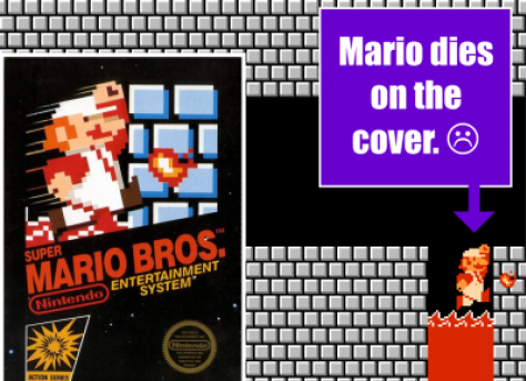 Nintendo Fun Facts Super Mario Death