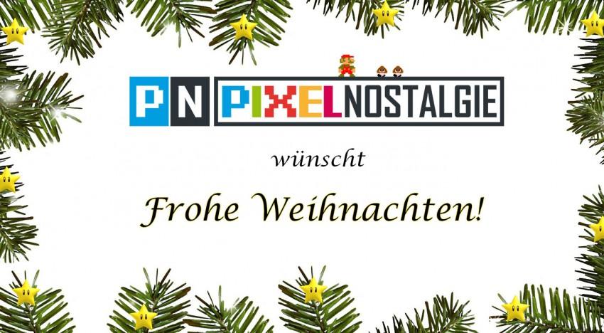 Pixelnostalgie wünscht frohe Weihnachten!