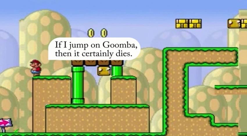 Ich denke, also bin ich… Super Mario!?