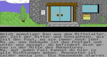 Nackt steht man als Ludwig Mystify im gleichnamigen Demo Adventure mitten auf der Straße.