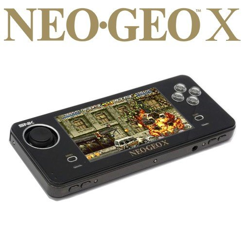 Neo Geo X Gold Pack Limited Edition Handheld