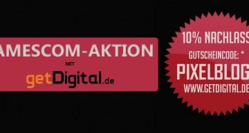 Gamescom-Aktion: Exklusiver 10% getDigital Gutschein-Code [Aktion abgelaufen]