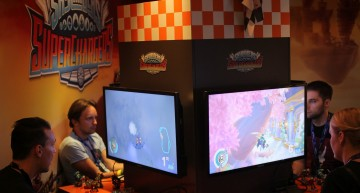 Activisions Racing Booth