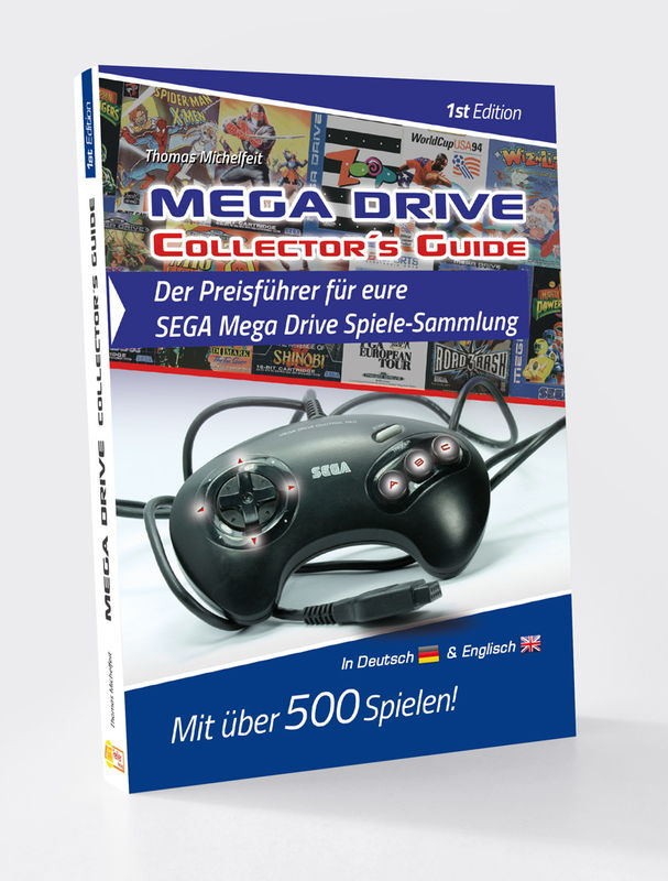 "SEGA Spiele Preisführer ""SEGA Mega Drive Collectors Guide"" Cover - günstig SEGA Mega Drive Spiele kaufen"