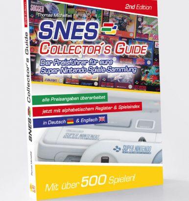 """Spiele Preisführer """"Super Nintendo Collectors Guide 2nd Edition"""" Cover - günstig Super Nintendo Spiele kaufen"""