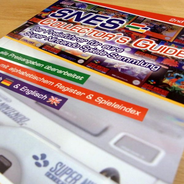 """SNES Spiele Preisführer """"Super Nintendo Collectors Guide 2nd Edition"""" Front"""