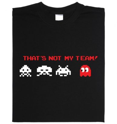 Shirt: That is not my team