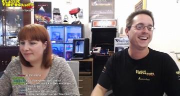 """Sabrina und Marco """"Apprentice"""" von Classic Videogames Live beim Video Livestream"""