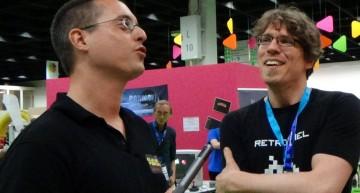 """Marco interviewt """"Retrospiel"""" auf der gamescom"""