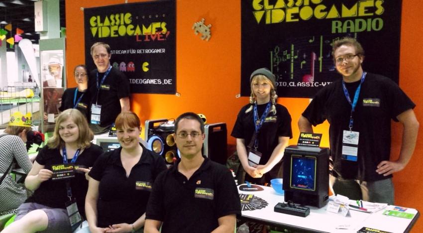 Das Webradio Stream Team auf der gamescom 2015
