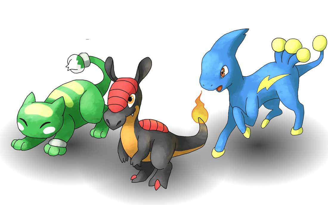 Pokemon uranium starters - 8d