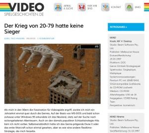 Gastartikel KKND Xtreme auf Videospielgeschichten