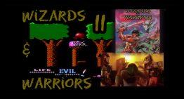 Wizards & Warriors angezockt und Spieleverpackungen selbst gemacht