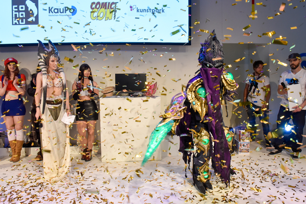 gamescom Cosplay Contest Siegerehrung / Quelle: gamescom