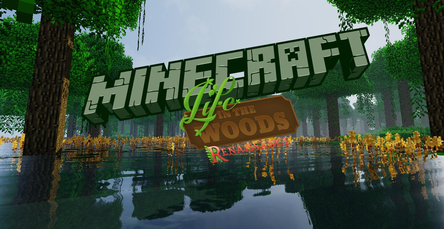 LIFE IN THE WOODS Gronkhs After Human Pack - Minecraft server erstellen mit freunden