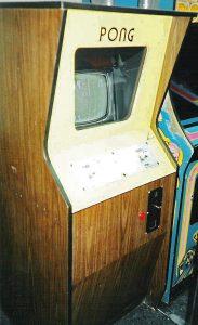 Arcadespiele aus der Videpspiele-Frühzeit - Der Pong Automat