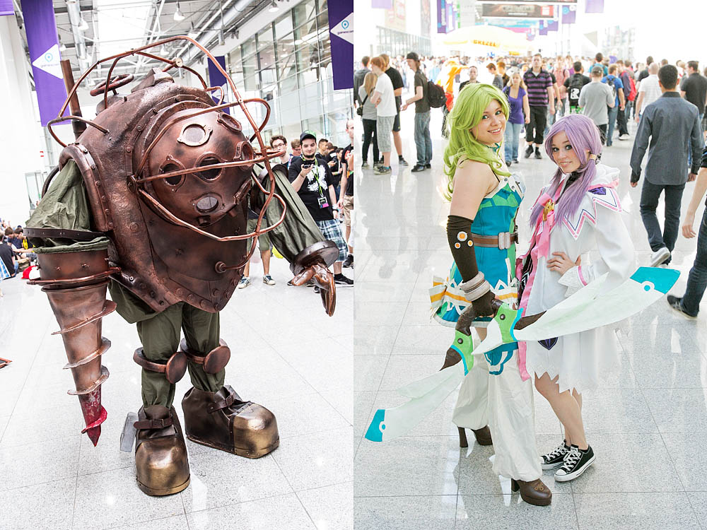 Cosplayer auf der gamescom / Quelle: gamescom