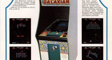 Galaxian Invaders? Da wollte man sichergehen. Invaders! Das Spiel kann nur gut sein…