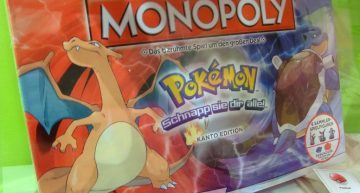 Monopoly in der Pokémon Edition.