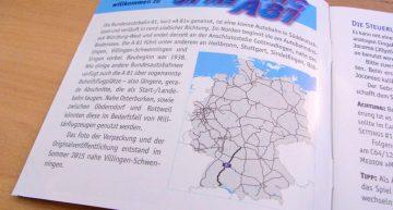 Anleitung (dt. & eng.) mit Streckenbeschreibung