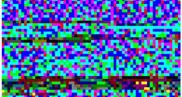 Kein Bildfehler, sondern das ganze ATARI Spiel in einer Grafik! 64×64 Bytes.