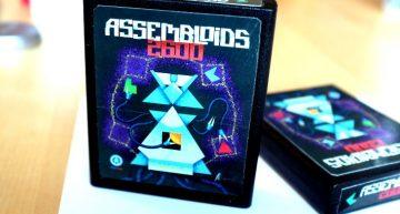 Assembloids 2600 als echte ATARI Cartridge!