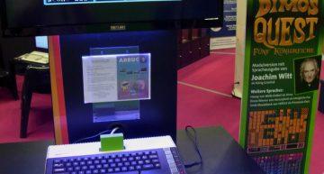 Dimo's Quest auf ATARI Modul auf der gamescom 2016.