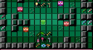 Ingame Screenshot ATARI Version.