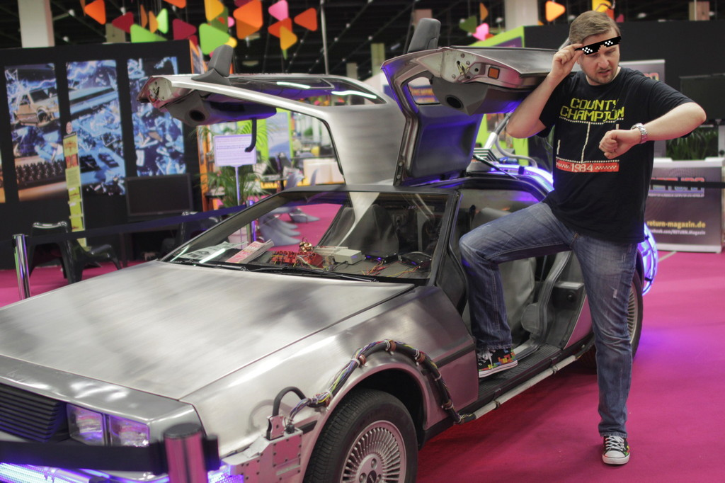 RETURN to the Future Axel im BTTF Style