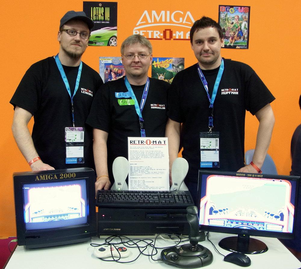 gamescom 2016 Das Team vom Retromat Amiga PC Hybrid