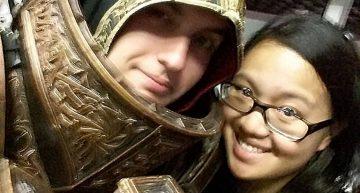 Selfie mit Gewinner Arthammer Cosplay :D