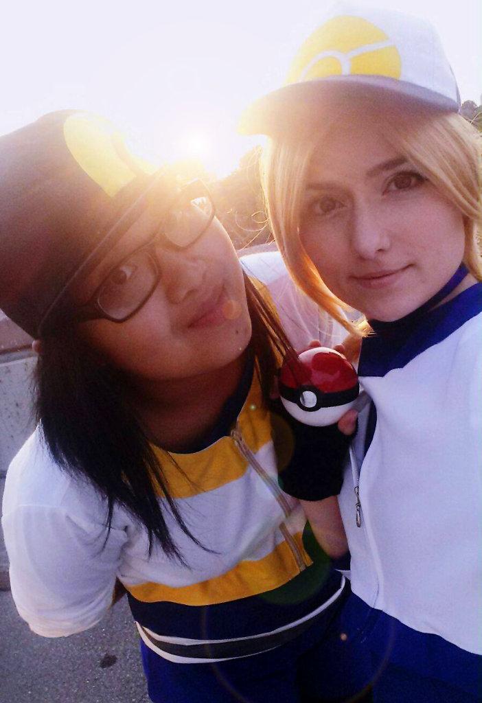 gamescom cosplay 2016 cosplay selfie mit Freundin Loki