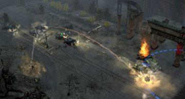 Über größere Distanz hilft die Artillerie.