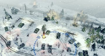 Panzerminen können hier nützlich sein!
