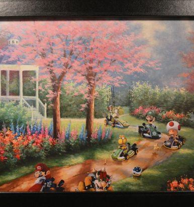 Super Mario Kart Bild Gemälde Großansicht