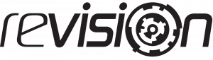 Revision Demo Party Logo Black