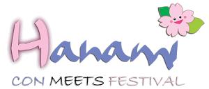 Hanami Con Meets Festival Logo