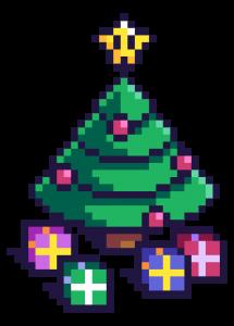 Weihnachtsbaum für Online Adventskalender 2016