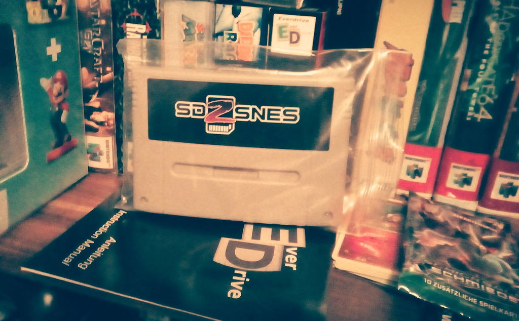 MSU-1 kompatibler SD2SNES Super Nintendo Adapter