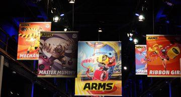 """Das neue Kampf-Game """"Arms"""" wird mit seinen Kampfmaschinen groß in Szene gesetzt!"""