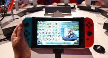 Handheld Modus der Switch