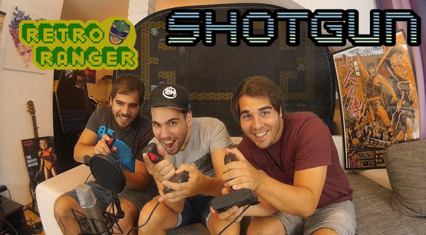 Mit Schrotflinten auf Spatzen schießen: 3 Spieler und ein C64 im Shotgun Special!