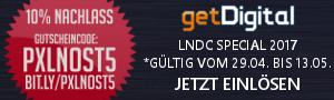 Pixelnostalgie GetDigital Gutschein LNDC Special